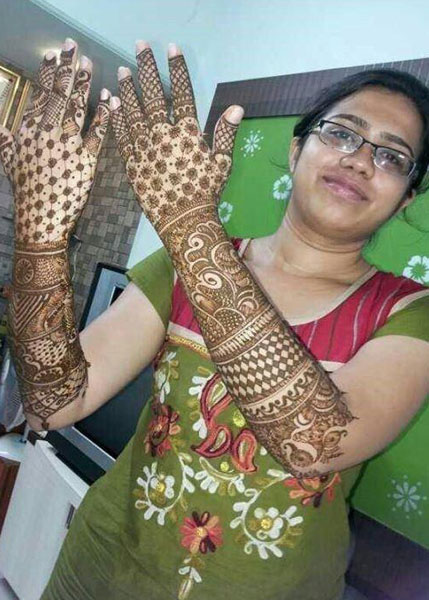 Top 5 Mehandi art Mumbai