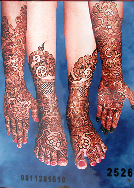 Top 5 Mehandi Art Best Bridal Arabic Colorful Mehandi Design In