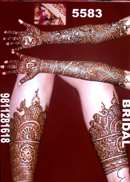 Best Bridal Mehandi Design panipat