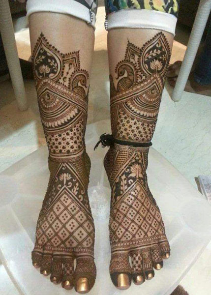 Best Bridal Mehandi Design jalandhar