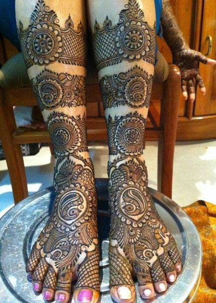 Best Bridal Mehandi Design ludhiana